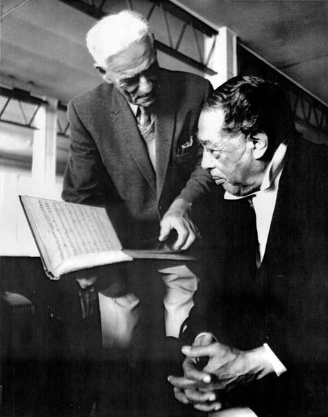 Arthur Pearce and Duke Ellington
