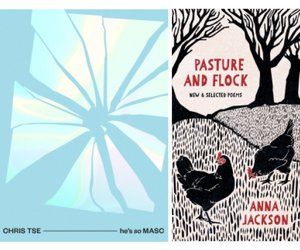Covers of books by Chris Tse & Anna Jackson