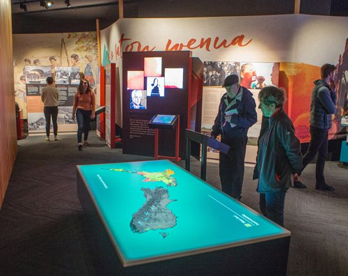 New Zealand Interactive Map.He Tohu Exhibition Looks Back To The Future New Zealand Festival
