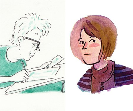 Sarah Glidden & Mimi Pond: Graphically Personal