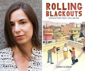 Sarah Glidden Comics Correspondent W&R18 (c) Sarah Shannon 600x500