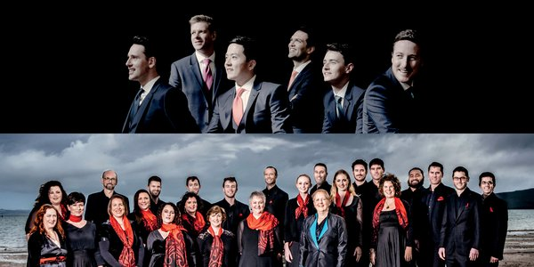 The King Singers and Voices New Zealand Chamber Choir New Zealand Festival 2018 2000x1000 (c) Marco Borggreve